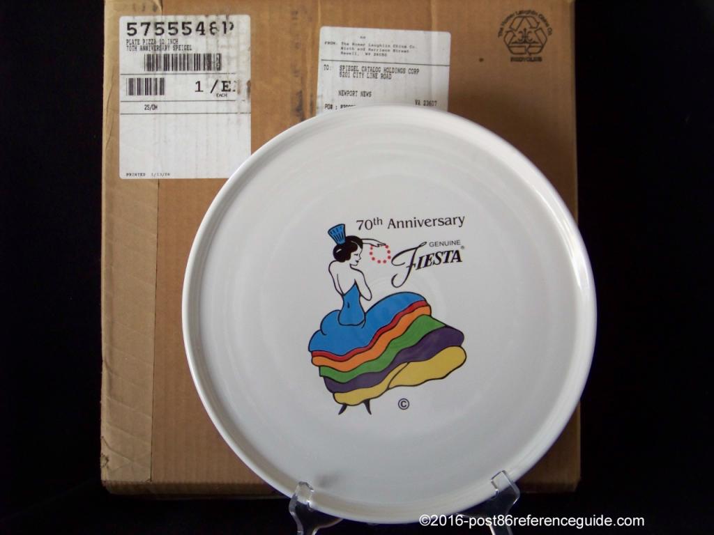 Fiesta® Spiegel Pizza 70th Anniversary boxed