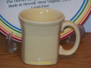 Fiesta® Square Mug in Ivory
