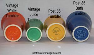 Fiesta® Tumbler Comparison Bases