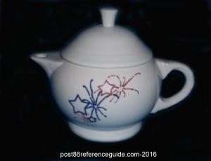Fiesta® Fireworks 2 cup teapot