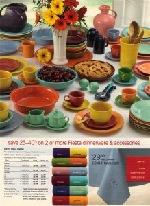 JC Penney Ad Spring 2005 Page 519 - Fiesta® Dinnerware