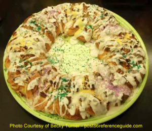 King Cake by Becky Turner on Fiesta®
