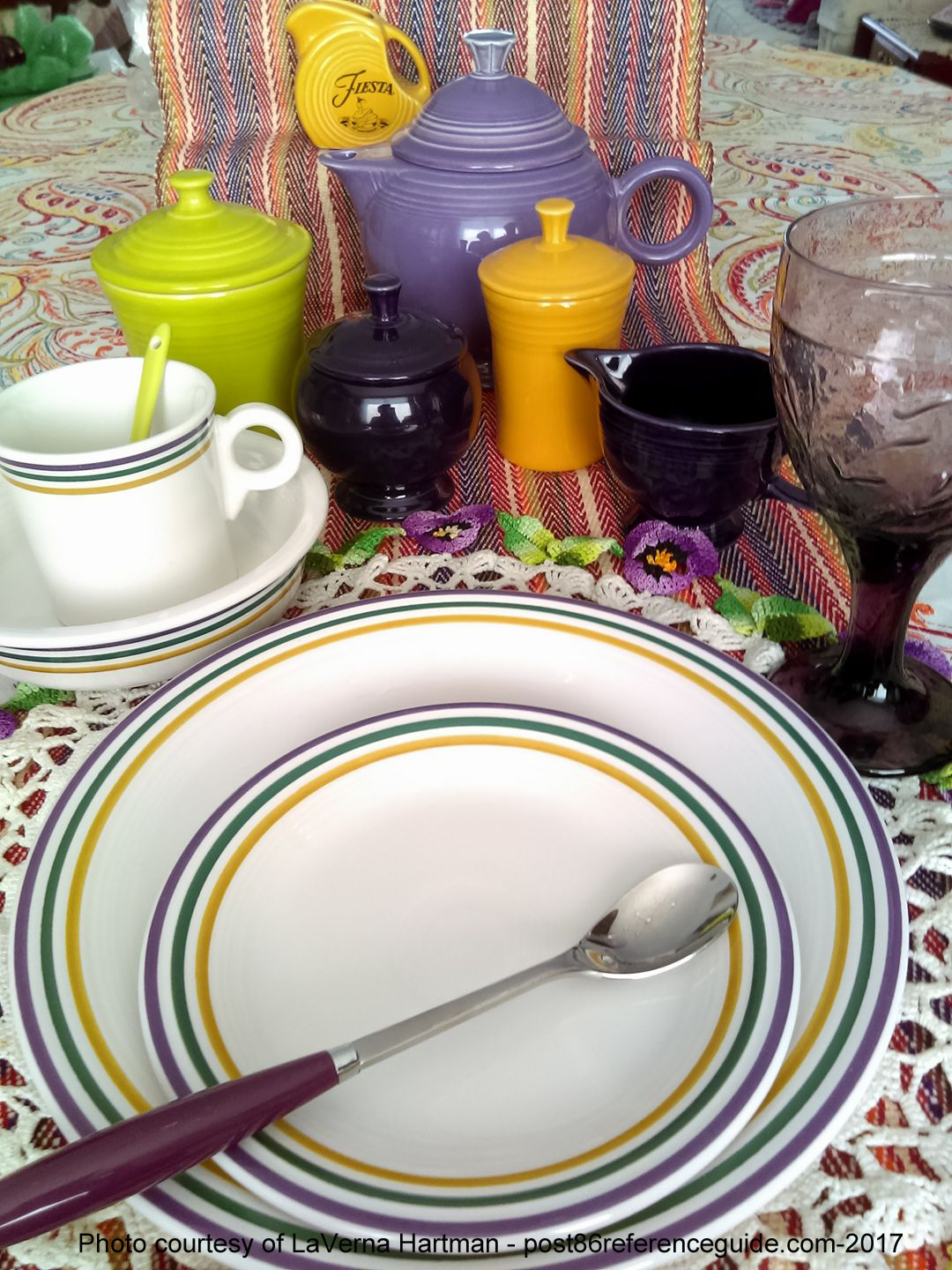 Fiesta® Mardi Gras & Fiesta® Mardi Gras by Homer Laughlin China