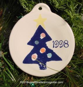 Fiesta® May Company 1998 Ornament