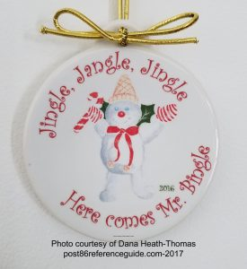 Mr Bingles 2016 Fiesta® Ornament