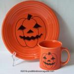 Fiesta® Spooky Pumpkin
