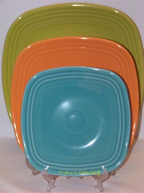 Fiesta® Square Plates & Fiesta® Plates